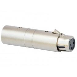 Adaptor XLR mama 3 pini - XLR tata 5 pini Jb Systems 1278