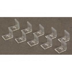 Set 10 cleme de fixare pentru ALU-CORNER-15MM Jb Systems CLIPS ALU-CORNER-15MM