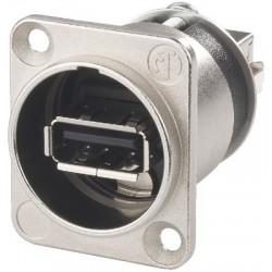 USB feed-through panel jacks Neutrik NAUSBW