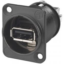 USB feed-through panel jacks Neutrik NAUSBWB