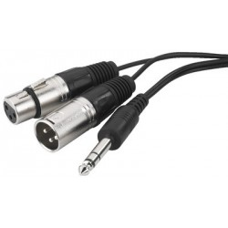 Audio insert/stereo cables Monacor MCI-363X