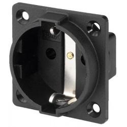 Built-in CEE 7/4 socket Monacor AAC-180J