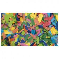 Rezerva confetti dreptunghiular Showtec 55 x 17mm, multicolor, 1Kg