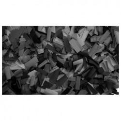 Rezerva confetti dreptunghiular Showtec 55 x 17mm, negru, 1Kg
