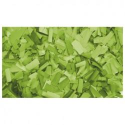 Rezerva confetti dreptunghiular Showtec 55 x 17mm, verde clar, 1Kg