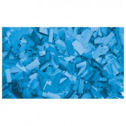 Rezerva confetti dreptunghiular Showtec 55 x 17mm, albastru clar, 1Kg
