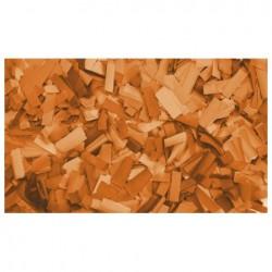 Rezerva confetti dreptunghiular Showtec 55 x 17mm, portocaliu, 1 kg