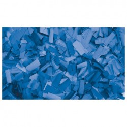 Rezerva confetti dreptunghiular Showtec 55 x 17mm, albastru, 1 kg