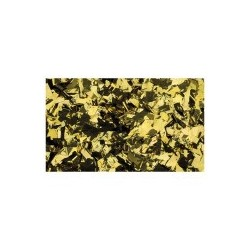 Rezerva confetti dreptunghiular Showtec 55 x 17mm, auriu metalic, 1 Kg