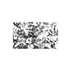 Rezerva confetti dreptunghiular Showtec 55 x 17mm, argintiu metalic, 1 Kg