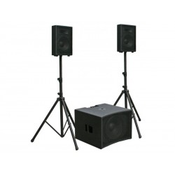 Sistem audio activ 500W RMS, CPX-1510SET Jb Systems