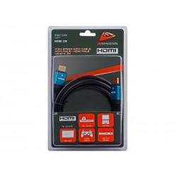 Cablu HDMI tata-tata 2m, HDMI-2M Jb Systems