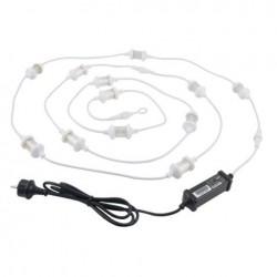 Stroboscop LED Showtec LED Flash String, alb, aleator