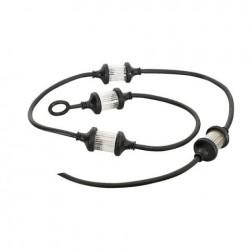 Stroboscop LED Showtec LED Flash String, alb, 1.5m, 4 stroboscoape, controlabile
