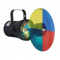 Proiector Showtec Parcan 36 negru cu Pinspot colourchanger Set