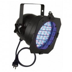 Proiector LED Showtec Par 56 Short, RGB LED, negru