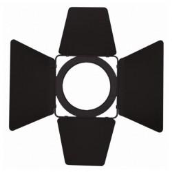 Voleuri barndoor pentru reflector Showtec Stage Beam MKII 300/500W negru