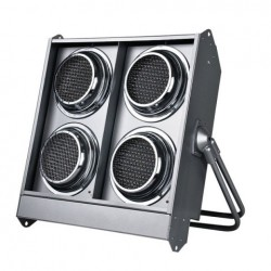 Blinder Showtec Stage Blinder 4 LED, argintiu