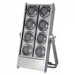 Blinder Showtec Stage Blinder 8 LED, argintiu