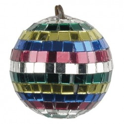 Sfera oglinzi multicolora Showtec Multicoloured Mirrorball 5 cm