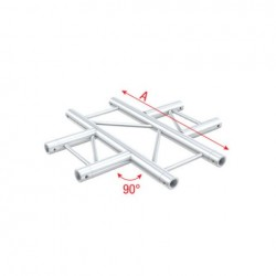 Grinda Showtec 4-Way horizontal Pro-30 Step P Truss