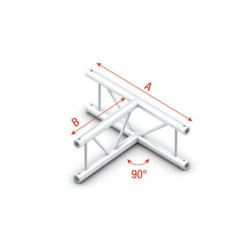 Grinda Showtec T-Cross vertical Pro-30 Step G Truss