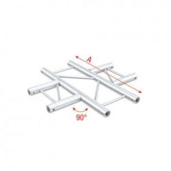 Grinda Showtec 4-Way horizontal Pro-30 Step G Truss