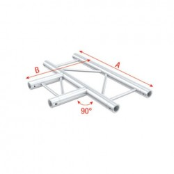 Grinda Showtec Cross horizontal Pro-30 Step G Truss