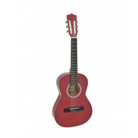 Chitara clasica 1/2, Dimavery AC-303, rosu