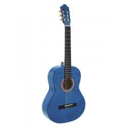Chitara clasica 4/4, blueburst, Dimavery AC-303BB