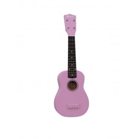 Ukulele soprano, roz, Dimavery UK-200PK