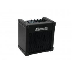 Amplificator de chitara electrica cu intrare de microfon, 10W, negru, Dimavery 26360160