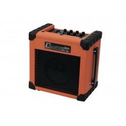 Amplificator de chitara electrica cu intrare de microfon, 10W, portocaliu, Dimavery 26360161
