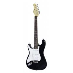 Chitara electrica de mana stanga, ST Style, neagra, Dimavery -ST-203 E-Guitar LH, black
