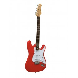 Chitara electrica ST Style, rosie, Dimavery ST-203 E-Guitar, red