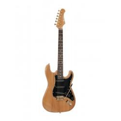 Chitara electrica ST Style, chihlimbar, Dimavery ST-303 AMBER