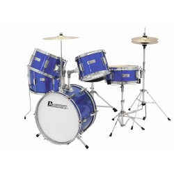 Set de tobe pentru copii, 5 piese, albastru, Dimavery JDS-305BL