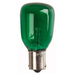 Bec Showtec BC Bulb Showtec BA15 240V 15W, Green