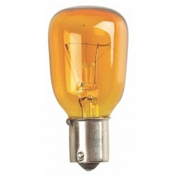 Bec Showtec BC Bulb Showtec BA15 240V 15W, Yellow