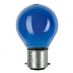 Bec Showtec BC Bulb Showtec B22 G45 240V 15W, Blue