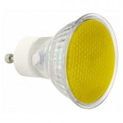 Bec Sylvania Bulb GU10 Sylvania 240V 50W, Yellow