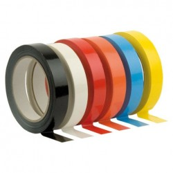Banda Showtec PVC Tape Rosu 19mm x 66m