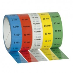 Banda Showtec Markertape Albastru 25mm x 33m