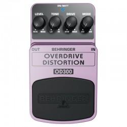 Efect pedala chitara electrica Behringer OVERDRIVE DISTORTION OD300