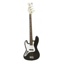 Chitara bas electrica tip Jazz pentru stangaci, neagra, JB-302LH-BK
