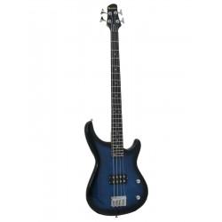 Chitara electrica tip Modern Bass, blueburst, Dimavery SB-201BB