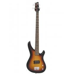 Chitara electrica tip Modern Bass, sunburst, Dimavery SB-201SB