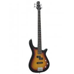 Chitara electrica tip Modern Bass, sunburst, Dimavery SB-321SB