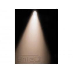 Proiector argintiu 100W LED COB alb (lumina calda) in housing de PAR56, Briteq COB PAR56-100WW SILVER