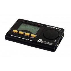 Acordor digital cu metronom pentru chitara si bas, Dimavery SGBM-100